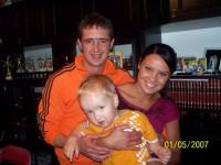 Ona On i maly Anioleczek..siostrzeniec