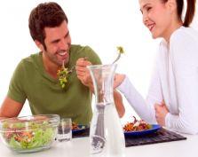 Zdrowa i romantyczna kolacja Walentynkowa
