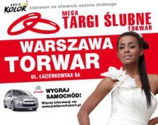 Mega Targi Ślubne Torwar 3-4 XII - wygrajcie zaproszenia i bądźcie tam z nami!