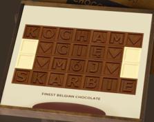 """KONKURS – """"Miłość o smaku czekolady"""""""