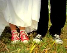 Ślubne szaleństwo w trampkach