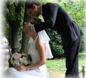 W ślubnym kadrze
