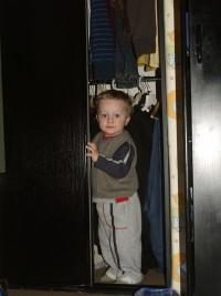 w szafie :)