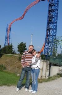 Wesołe miasteczko Skyline Park w Niemczech (09.2008)